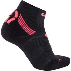 UYN Run Marathon Zero Socks Dam black/coral fluo